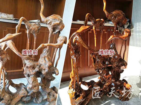 根雕工艺品贝博国际在线保养1